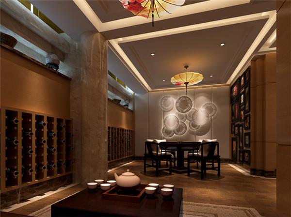 简约中式茶馆装修设计较好 古典典雅 清新简洁