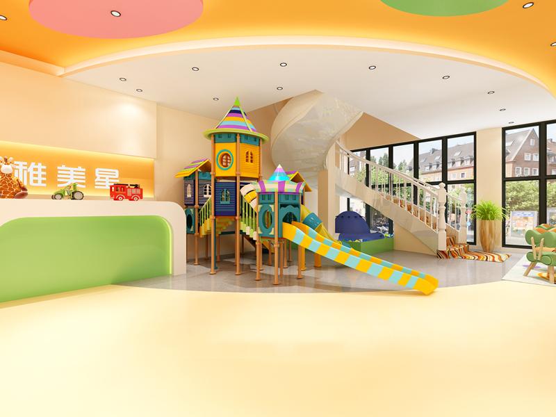幼儿教育空间设计与装修——成都装修首选品牌美雅时!