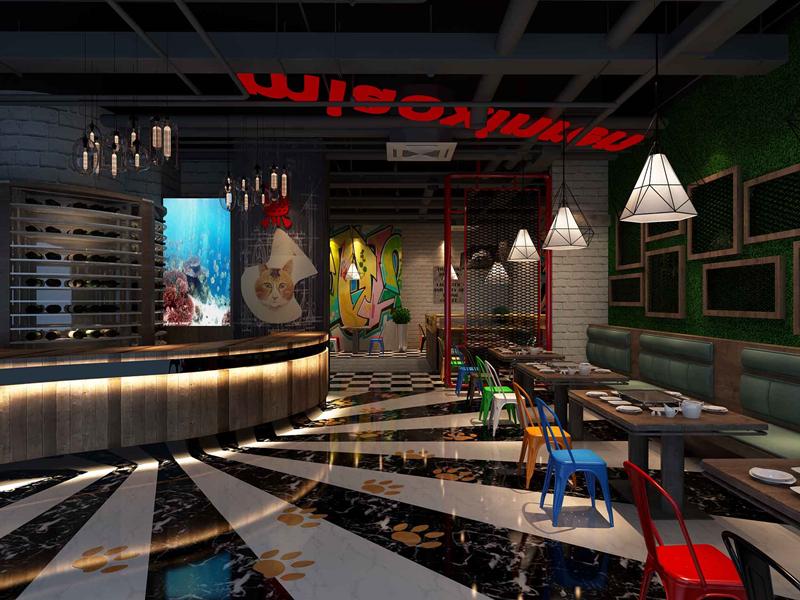如何装修设计更具特色的成都工业风格餐厅?