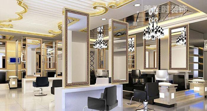 成都100平理发店装修费用要多少?成都理发店设计装修