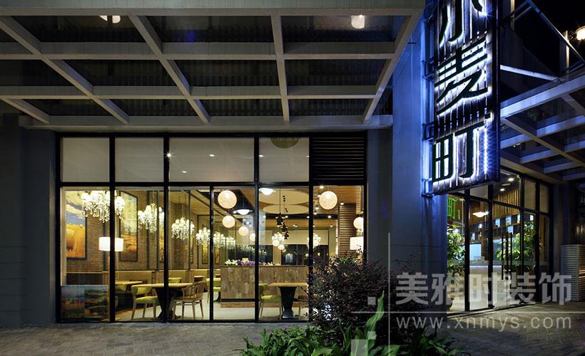 餐厅装修——餐厅新中式装修风格三要点| 美雅时装修