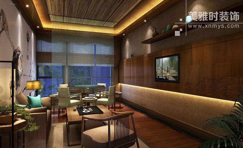 在新一线城市成都装修一间360平米的茶楼,大概需要多长时间多少钱?
