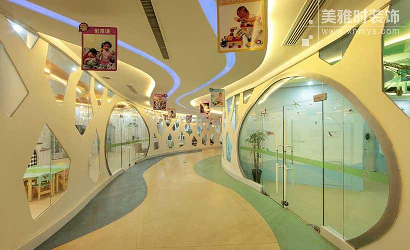 极简主义在幼儿园室内装修设计