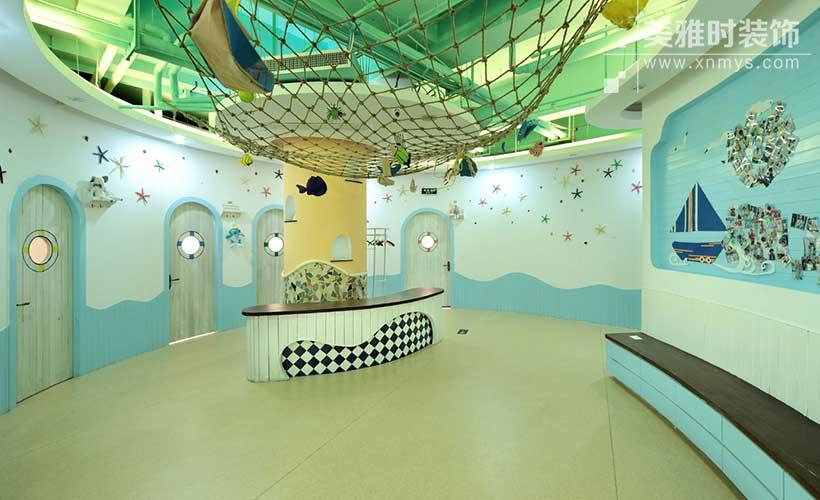 高端幼儿园装修设计取决于它的装修细节