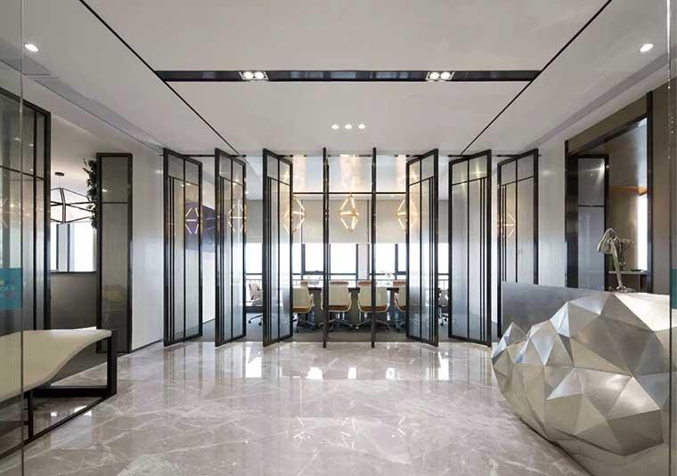 成都魏玛国际广场现代风办公室装修设计效果图