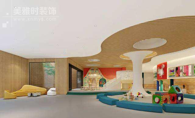 成都幼儿园设计在空间上很多装修细节都得注意