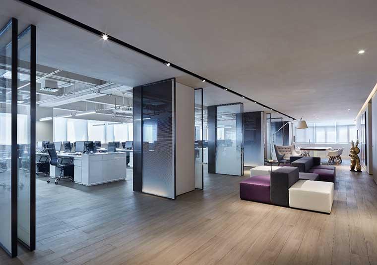 180平简装办公室装修设计怎么设计